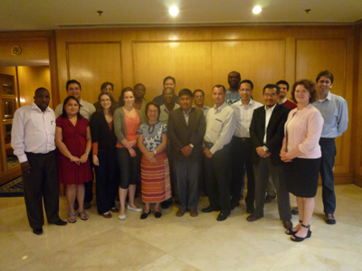 REDD Development Dividend Taskforce Meeting:: Negotiators and practitioners at the IISD/ASB REDD Development Dividend Task Force Meeting held on January 25-26 2010 in Manila, Philippines.